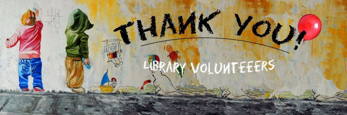 Thank You Library Volunteers!